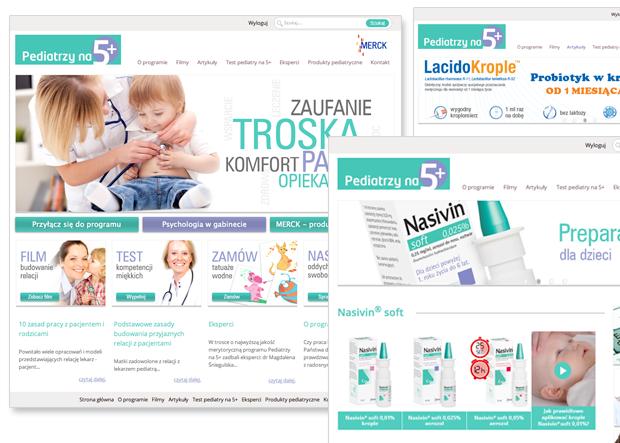 Pierwszy w Polsce serwis dla lekarzy pediatrów z zakresu psychologii pracy z małymi pacjentami i ich rodzicami. Sukcesy? Średni czas trwania sesji wynosi ponad 8 minut!
